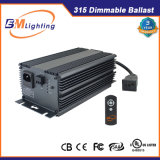 Low Frequency Greenhouse Used Hydroponic 315W CMH Dimmable Ballast