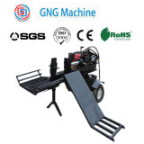 45ton High Efficiency Automatical Feeding Forest Timber Log Splitter