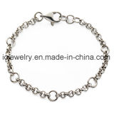Simple O Chain Link Bracelet