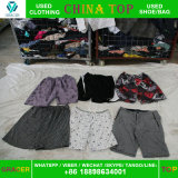 Recycling UK Style Unsorted Used Clothing Cream, Short Man Nicker Wholesale Second Hand Clothes Hot Sale in UK