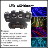 4X10W RGBW 4in1 LED Moving Head Beam Light