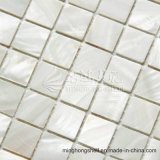 Freshwater Shell Mother Pearl Pure White Square Mosaic