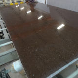 Kingkonree Brown Quartz Slab Engineered Quartz Stone