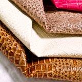 1.2mm Embossed Crocodile PVC Leather for Handbags