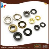 Custom Garment Accessories Six Prong Type Metal Brass Eyelet