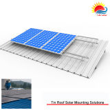 Customized Tin Roof Solar Mounting of Aluminum Anodised 6005series (GD1281)