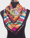 Pure Silk Luxury Fashion Women′ S Stylish Silk Scarf / Lady Scarf (HWBS11)