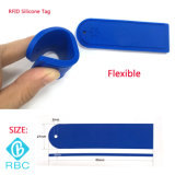 Durable 13.56MHz Hf Rbid Silicone Laundry Tag for Dry Cleaning