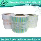 Breathable Printed Laminated Film for Baby Diaper Raw Materials (LF-012)