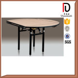 PVC Round Hotel Restaurant Folding Table (BR-T067)