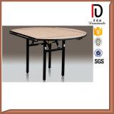 PVC Round Hotel Restaurant Folding Table (BR-T067)