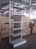 Single Sided Supermarket Net Back Panel Metal Shelf