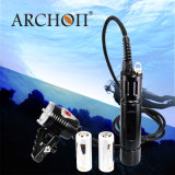 Scuba Diving Flashlight Torch Underwater Submarine Light Rechargeable 18650 Battery