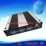 30dBm 85dB 2g/3G/4G GSM/Dcs/WCDMA Tri Band Signal Repeater