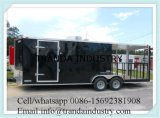 New 2017 8.5 X 23 V-Nose Enclosed Food Car Van Loaded Race Package Mobile Food Trailer