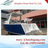 5.8m Aluminum New Yatch for Fishing Pleasure Speed Motor Boat for Sale