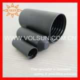 Black PE Material Heat Shrink End Cap