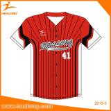 Healong Top Sale Sportswear Customized Sublimation Printing Baseball Jersey