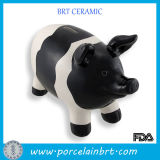 Gift for Kid Cute White and Black Piggy Bank