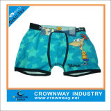 100% Cotton Soft and Breathable Cute Cartoon Child Boys Boxer Short