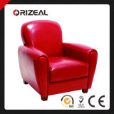 Red Leather Accent Chair (OZ-SW-268)