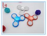Wholesale on/off Three Modes LED Hand Spinner Fidget Finger