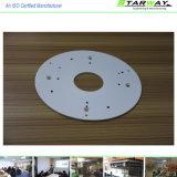 Customized White Powder Coated Aluminum Stamping Parts