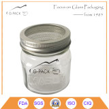9oz Glass Sprouting Mason Jar with Mesh Lid