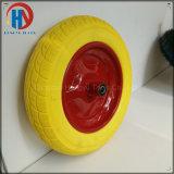 "16"" Solid PU Foam Wheel Metal Rim"