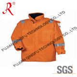 Winter High Quality Reflective Safety Jacket (QF-535)