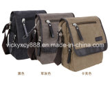 Men Canvas Single Shoulder Leisure Messenger Bag (CY1818)