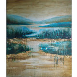 Latest Decorative Nature Oil Painting (LH-231000)