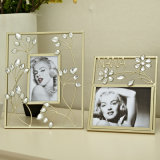 Metal Photo Frame Crystal Gifts Home Decoraction Photo Frame Ornament