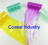 Colored Ribbed Plastic PVC Strip Curtain Door Window Roll