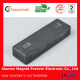 Customize Block with Hole Ferrite Magnet for Sale