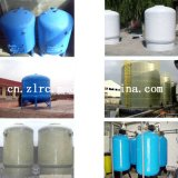 FRP GRP Tanks for Indusrial Water Filter/ FRP Auto Filter