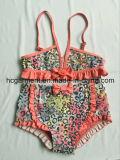Lovely Printing Two Piece Bikini for Baby Girl/Baby, Kids Swimwear Swimsuit