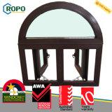 Australian UPVC Double Glazed Top Arch Casement Windows