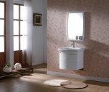 White Solid Wood Bathroom Vanity