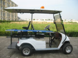 Electric Ambulance Buggy, 2 Seats with Stretcher, Eg2028tb1, CE Approved