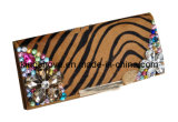 Fashion Leopard Fur Wallet with Shiny Diamond with Decpration / Fashion Wallets (KCW16)
