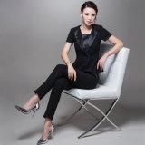 Latest Designs Ladies Suit Woolen Black Women Tuxedo Suits