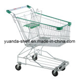 Hot Sale Shopping Metal Folding Trolley for Supermarket