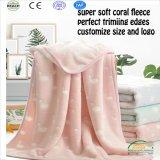 New Printed Coral Fleece Baby Blanket