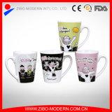 V Shape Ceramic Mug with Cool Bear Designs