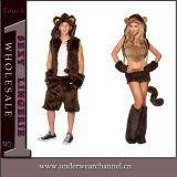 Adult Cartoon Fox Animal Party Fancy Halloween Carnival Costume (TLQZ6842)