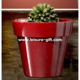 Fo-306 Large White Flower Pots with Fiberglass Material for Decorate