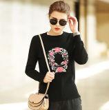 Women′s Cashmere Sweater with Round Neck (13brdw178)