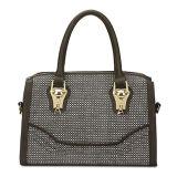 Wholesale Small Check New Fashion Leather Handbags (MBNO035083)