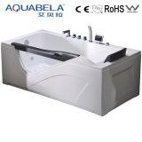 Big Rectangular Massage Bathtub with Fiber Glass Reinforced (JL808)